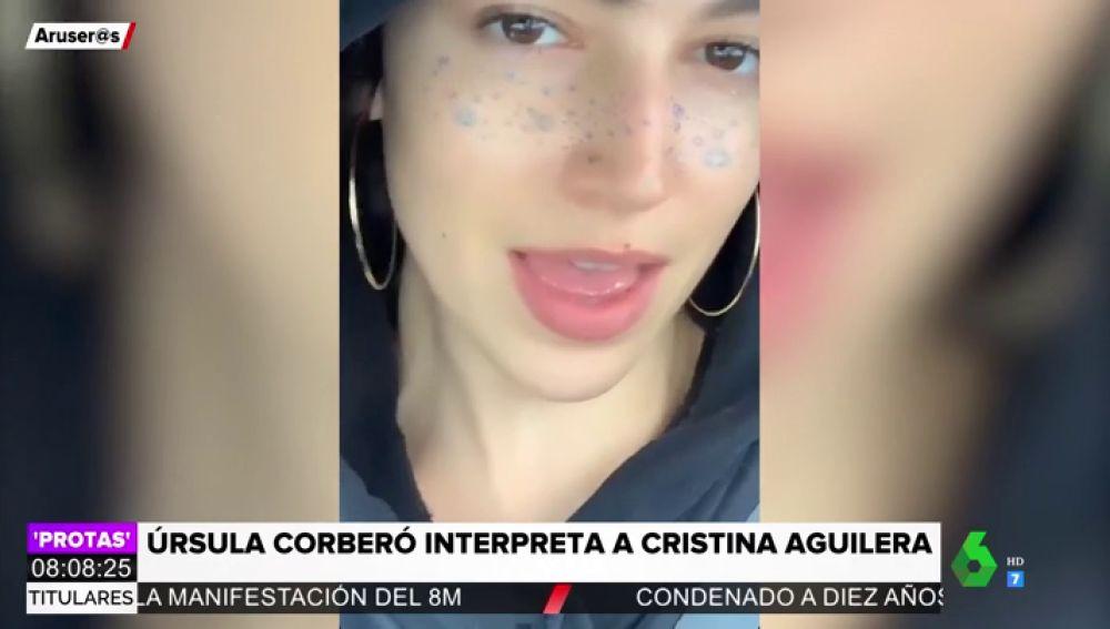 La interpretación de Úrsula Corberó de 'Beautiful' de Christina Aguilera
