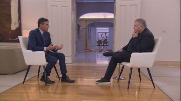 Entrevista de Ferreras a Pedro Sánchez en Moncloa