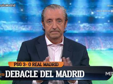 """Josep Pedrerol: """"Zidane tiene crédito porque ha ganado tres Champions, pero hay un entrenador que está libre"""""""