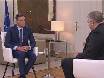 Entrevista a Pedro Sánchez en Moncloa