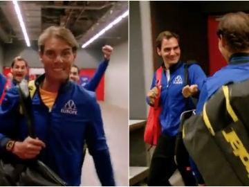 El 'troleo' de Federer y Fognini a Rafa Nadal
