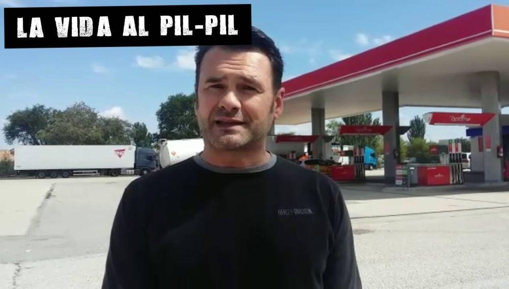 Iñaki López comenta la subida del combustible