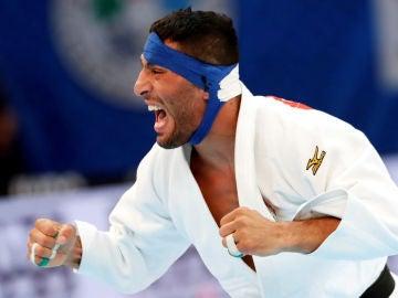 El judoca Saeid Mollaei, durante una competición