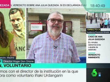 """Francisco Sánchez, director del centro de voluntariado de Urdangarín: """"Ha comentado que la prisión pesa"""""""