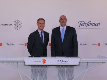 Acuerdo entre Telefónica y Atresmedia
