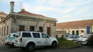 Coche de la Policía en Portugal