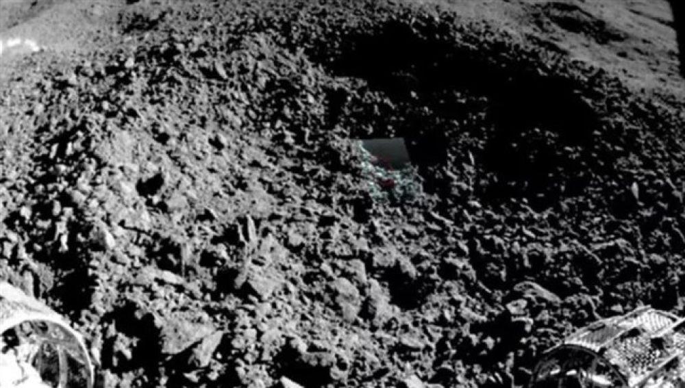 Material en la cara oculta de la Luna