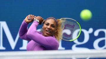 Serena Williams, durante un partido del US Open