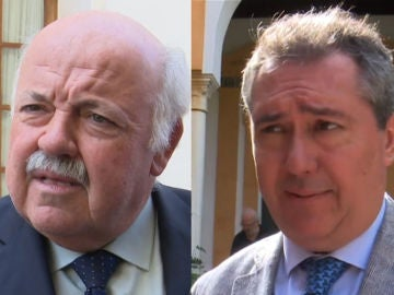 El consejero de Salud andaluz y el alcalde de Sevilla