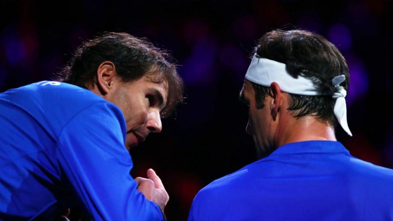 laSexta Deportes (21-09-19) De genio a genio: el ejercicio de 'coaching' de Rafa Nadal a Federer en su partido contra Kyrgios