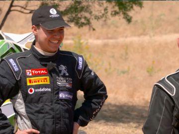 El joven piloto Óscar Palomo