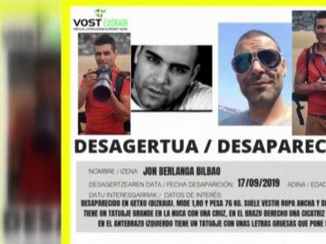 Jon Berlanga Bilbao, desaparecido