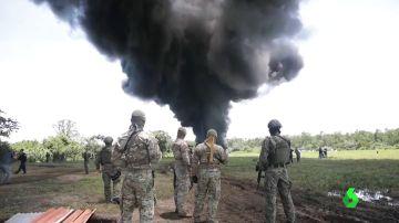 Las autoridades panameñas queman el mayor alijo de droga de los últimos años