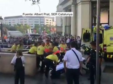 Imagen del menor apuñalado en una pelea en el Metro de Barcelona