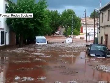 Inundación en Ossa de Montiel