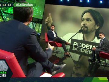 """El alegato de Rufián a favor de votar el 10N: """"Si no votas el PSOE pactará con Ciudadanos"""""""