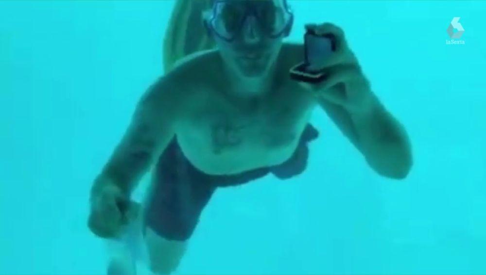 Imagen del hombre que ha muerto ahogado tras pedirle matrimonio a su novia