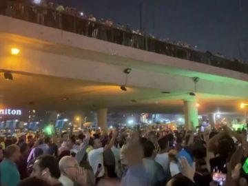 Al menos 150 detenidos en una insólita oleada de protestas contra Al Sisi en Egipto