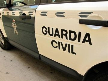 Un coche de la Guardia Civil