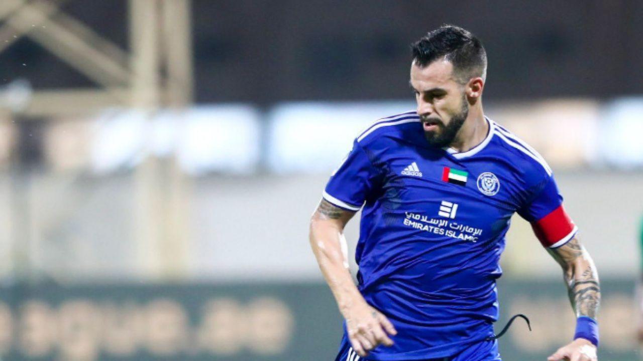 Álvaro Negredo, en fútbol emirarí.