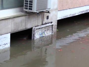 Lugar donde falleció ahogado un hombre en Girona