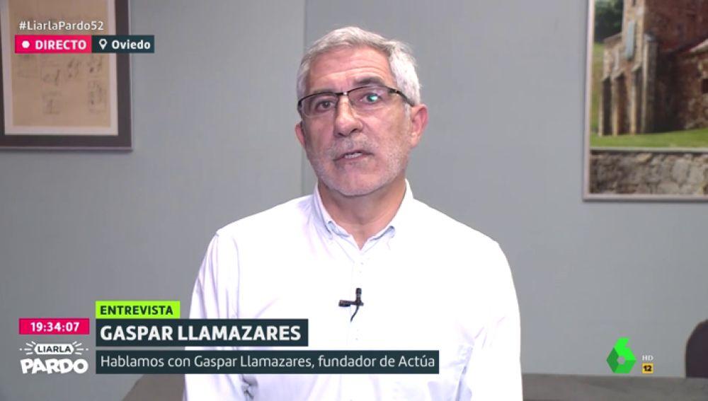 Gaspar Llamazares, en Liarla Pardo