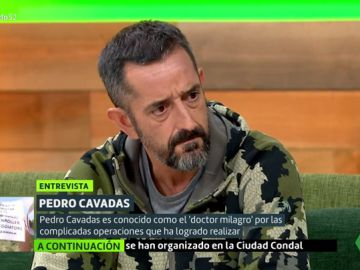 Pedro Cavadas en Liarla Pardo