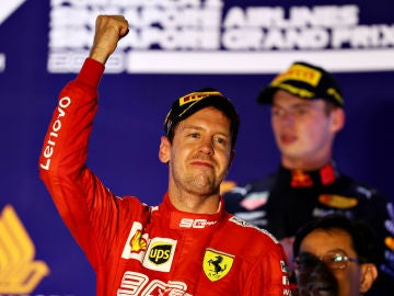 Vettel, ganador en Singapur