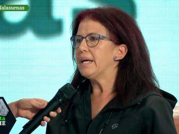 """Natacha, trabajadora precaria: """"Pedro Sánchez a mí como clase trabajadora me ha traicionado"""""""