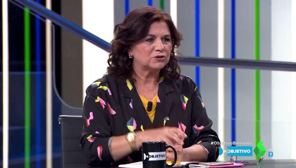 """Lucía Méndez: """"Errejón piensa que los votantes de Podemos están con él y los inscritos con Pablo Iglesias"""""""