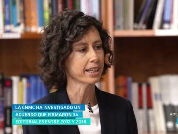 María Álvarez, subidirectora de la sociedad de información de la CNMC