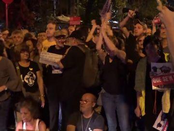 Insultos a la Guardia Civil y gritos contra España en las manifestaciones para `protestar por las detenciones de los CDR