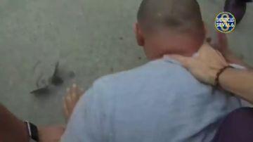 Así fue la espectacular persecución y detención de un delincuente en Sevilla