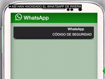 Así lograron hackear la cuenta de Whatsapp de Albert Rivera