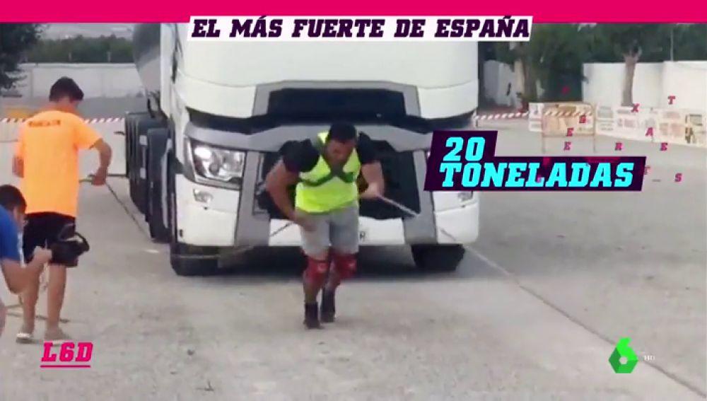 Los más hombres más fuertes de España se retan en un épica prueba