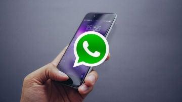iPhone X y WhatsApp