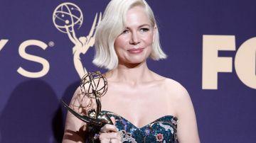 Michelle Williams exige en los Emmy igualdad salarial para las mujeres