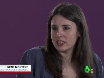 """Irene Montero: """"Los ciudadanos decidirán cómo afectará a Podemos la irrupción de Errejón en el 10N"""""""