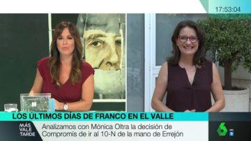 """Mónica Oltra, tras la decisión de Compromís de concurrir con Errejón: """"Podemos nos ofreció ir juntos con una flexibilidad que es de agradecer"""""""