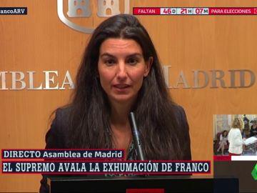 """Vox tacha de """"profanación"""" la exhumación de los restos de Franco avalada por el Supremo"""