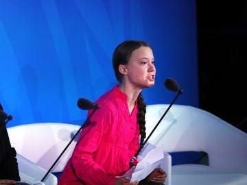 La activista Greta Thunberg