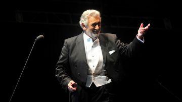 Imagen del tenor Plácido Domingo