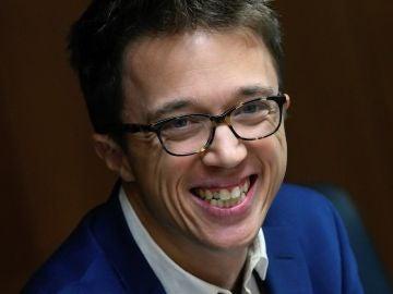 Íñigo Errejón, en la Asamblea de Madrid