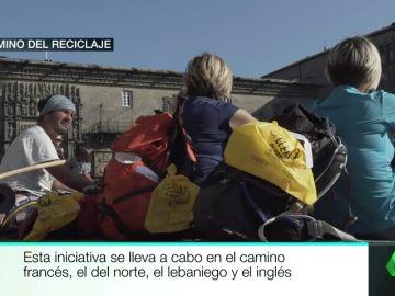 Camino del reciclaje: llegar a Santiago reciclando