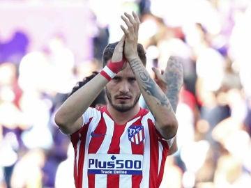 Saúl Ñíguez, con el Atlético
