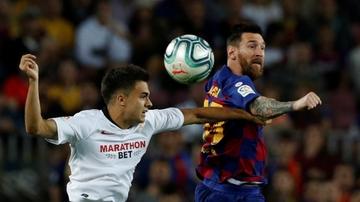 Reguilón, contra Messi