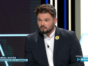 Gabriel Rufián en El Objetivo