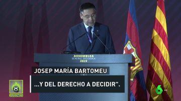 Bartomeu: ¿Presidente del Barça o político?
