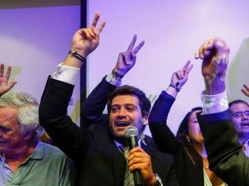 El líder de Chega, partido de ultraderecha, Andre Ventura