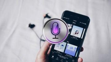 Spotify y Siri